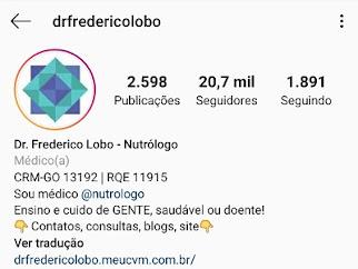 Siga o Dr. Frederico no Instagram