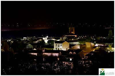 Jérez del Marquesado de noche - Fotografía de Jesús Martínez