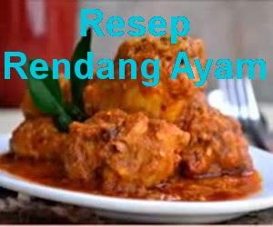Resep Masakan Rendang Ayam