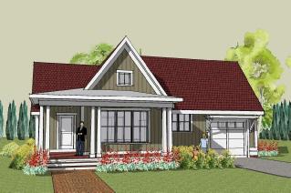 gambar desain rumah sederhana yang indah desain denah