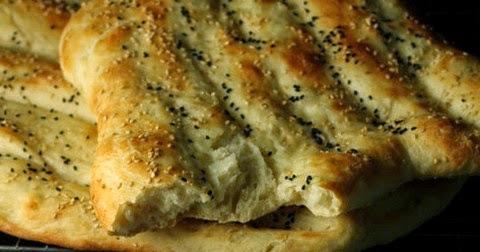 Persian Nan-e-Barbari Bread