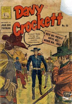 DAVID CROCKETT Nº 050 1960