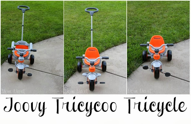 The many faces of the Joovy Tricycoo Tricycle
