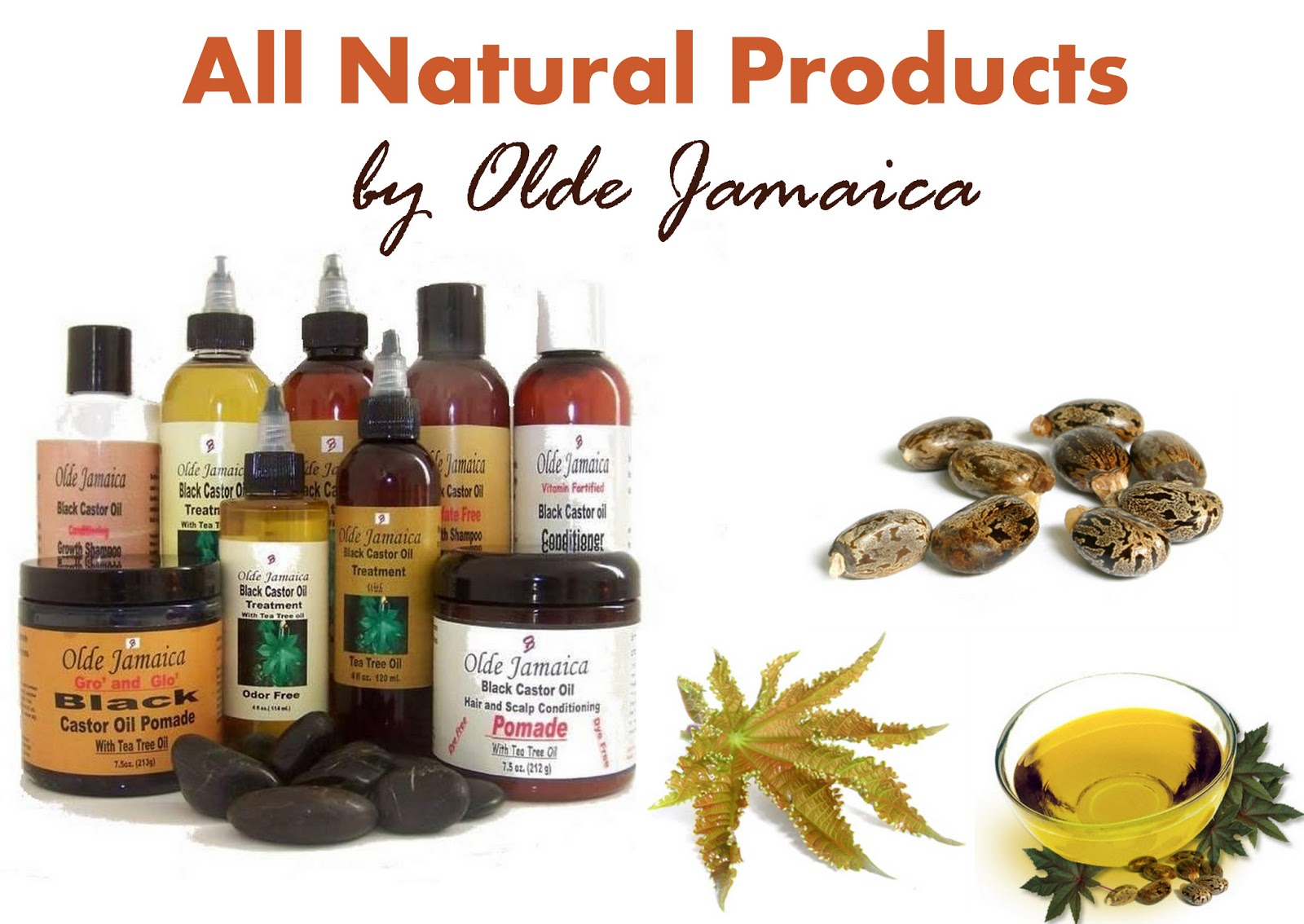 Oil for Hair Loss, Hair Care Products, Jamaican Black Castor Oil