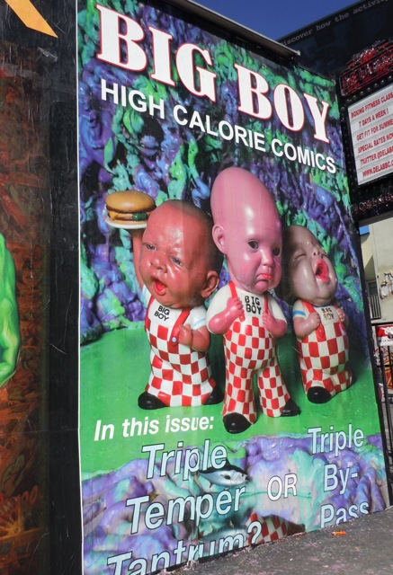 Big Boy homage poster Melrose Avenue