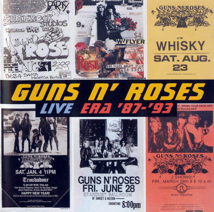 metalart guns n roses live era 8793 1999
