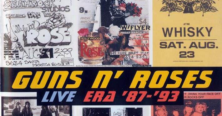 metalart guns n roses live era 8793 1999
