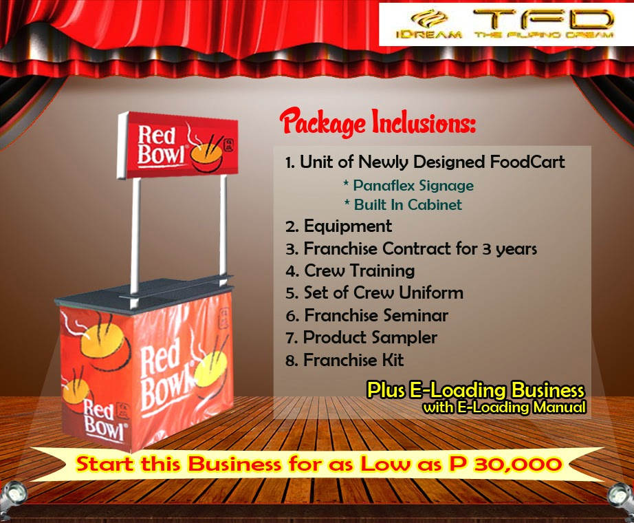 Foodcart For Franchise - A Value Meal | Rice and Dish Food Concept Offered in the Philippines.
