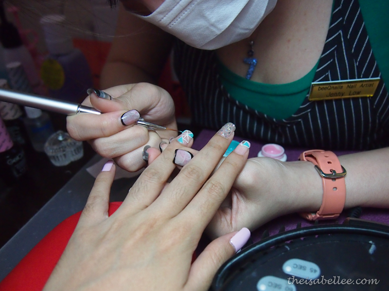 Nail art design at beeQnails