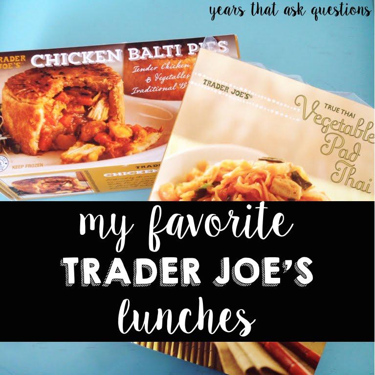 the designer teacher my favorite trader joe's lunches