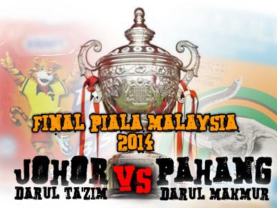 Final Piala Malaysia : JDT vs Pahang
