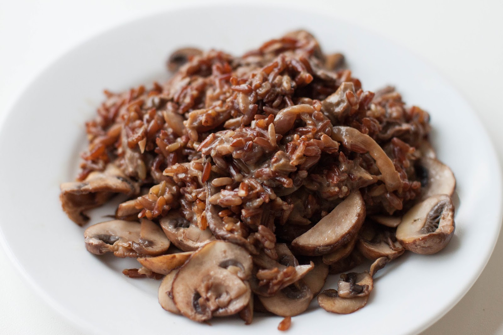 Double Mushroom Wild Rice [Zack]