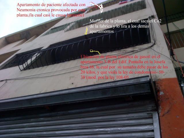 SOS por la salud de los condominos del Edifio Pantalla/Acuario Coralito