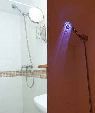 Apartamento selecto 2012 - Duchas con luz ...