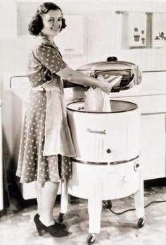 Lịch sử ra đời của chiếc máy giặt