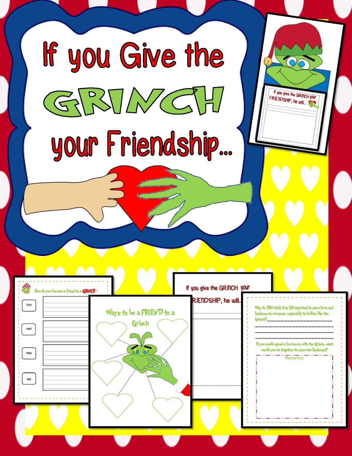 Engaging Lessons And Activities: Grinch Christmas Activities! All ...