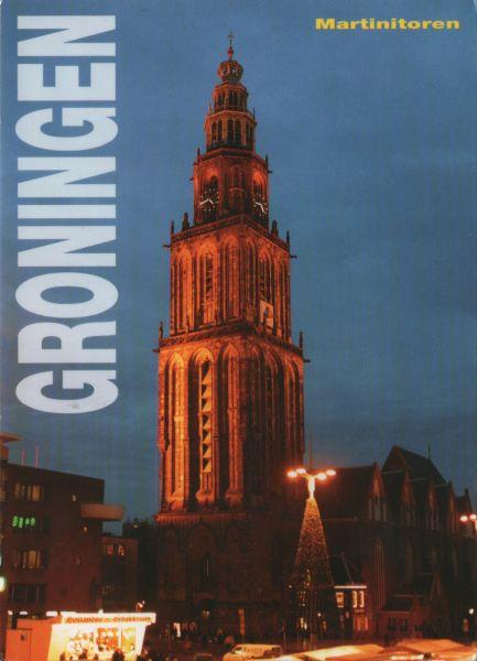 church tower in Groningen