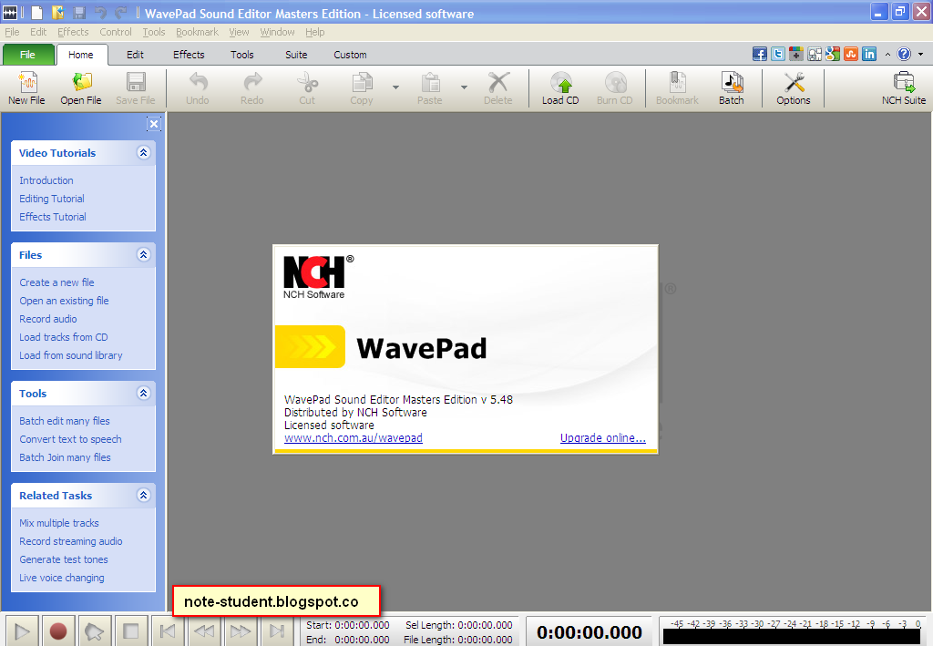 Wavepad Sound Editor Code free