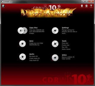 CDRWIN 10 Full Version