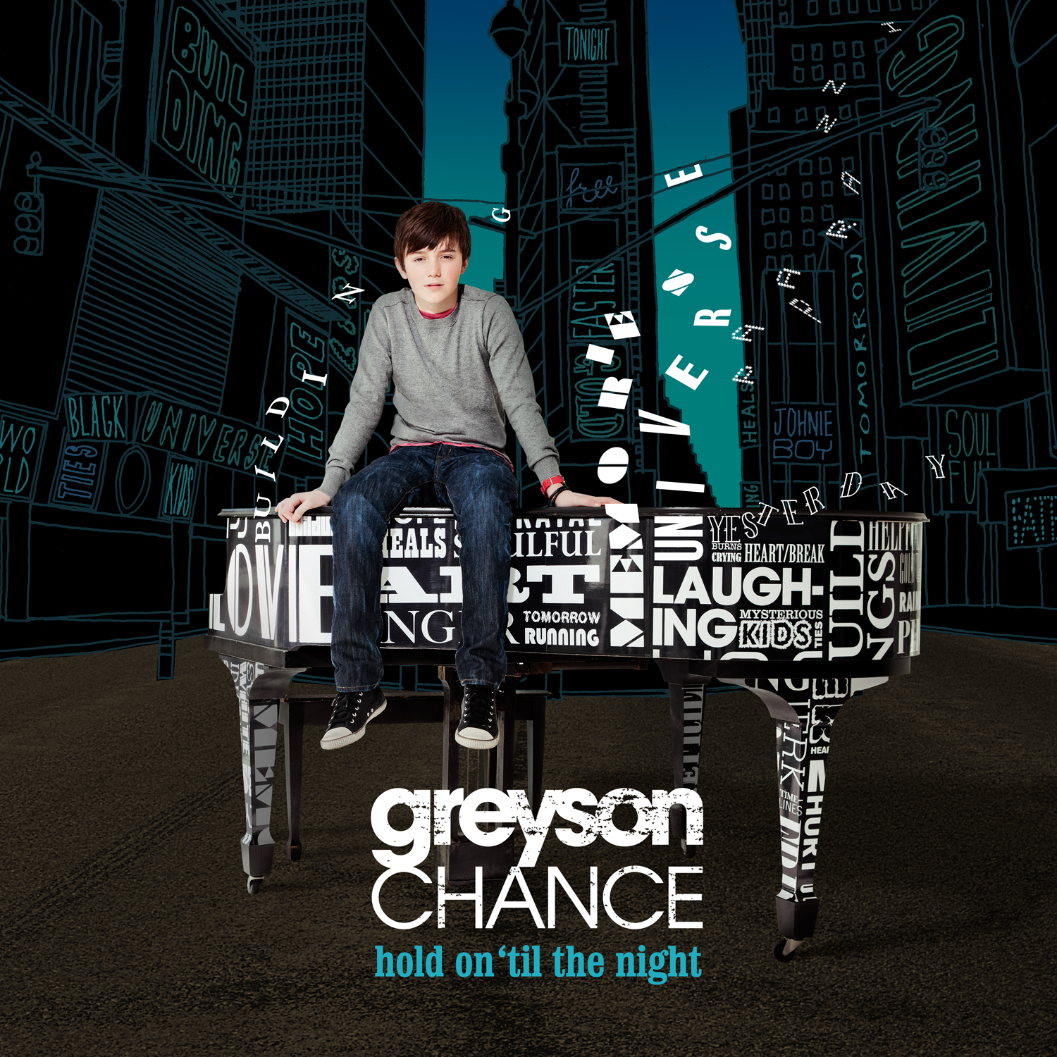 Hold On Til' The Night- Greyson Chance Lyrics