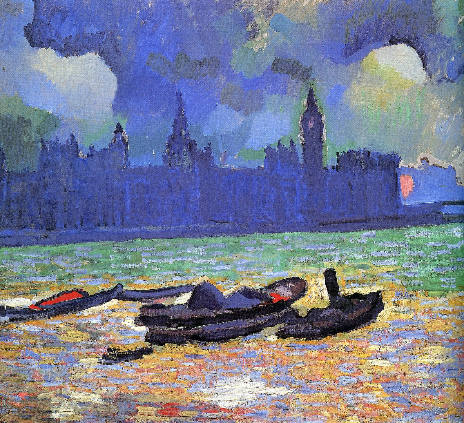 Andre Derain the palace of westminster