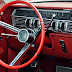 a 1960's Lincoln has what seems to be a cruise control