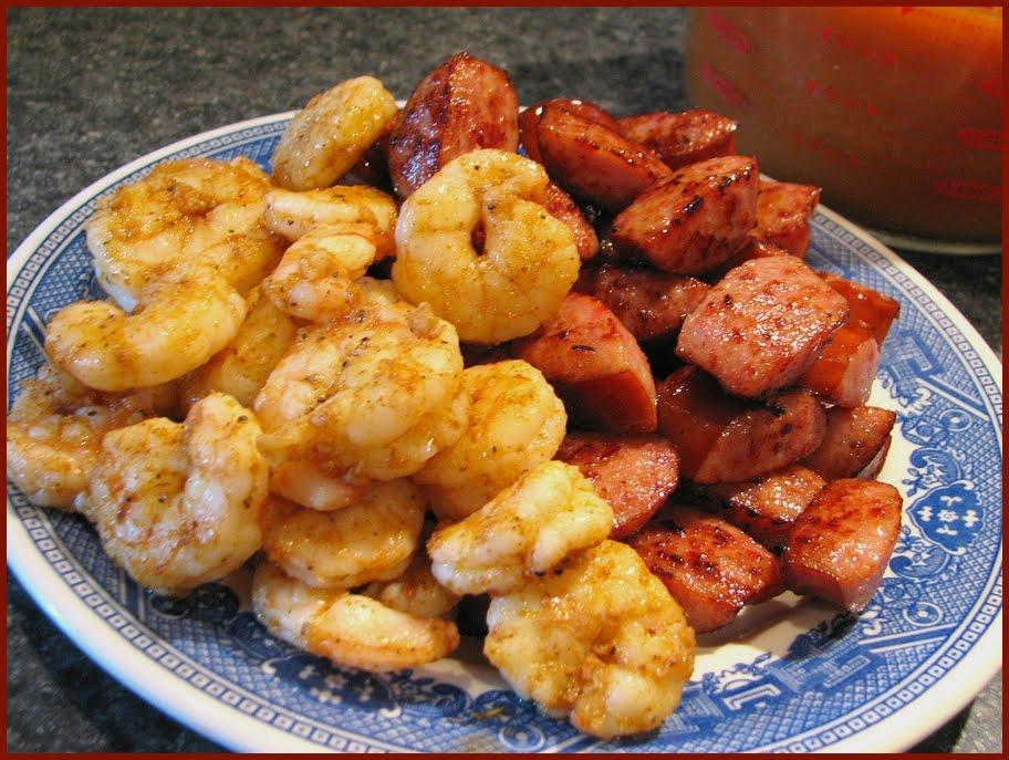 Fat Johnny's Front Porch: Shrimp & Smoked Sausage Jambalaya