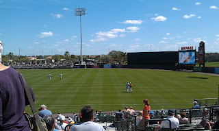 Baltimore Orioles spring training in Sarasota, Florida