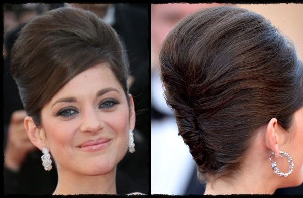 1960s Updos Cute easy updos for short hair