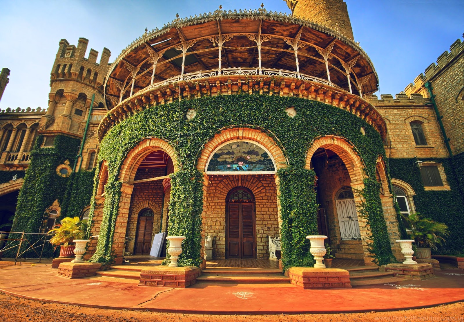 The grand bangalore palace digitalkaleidoscope for Design4 architects bangalore