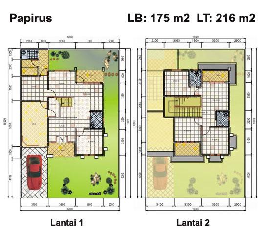 Inilah inspirasi Model Rumah Minimalis Type 54 Tingkat 2 Lantai 2015 yg inspiratif