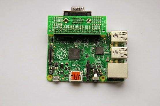 Adaptador VGA para Raspberry Pi