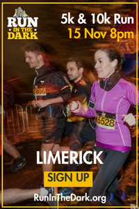 5k & 10k in the University of Limerick...Wed 15th Nov 2017