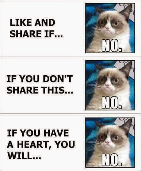 like and share if... no. if you don't share this... no. if you have a heart, you will.. no.