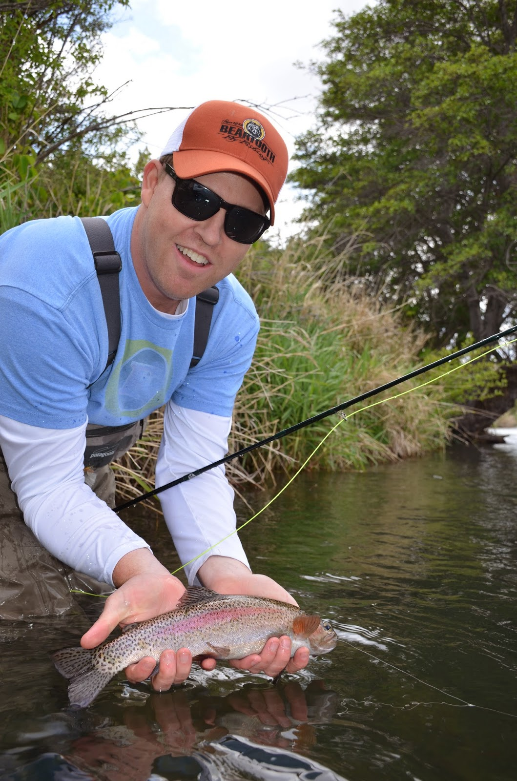 Fly fish oregon water time report deschutes river salmon for Trask river fishing report