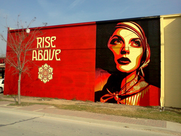 Randall garrett art and practice public art and for Dallas mural artists