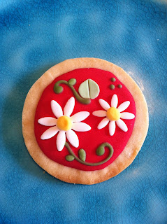 galletas decoradas con margaritas