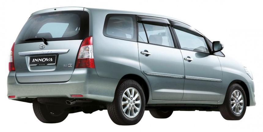 The Toyota Innova still uses the same powerplant as the pre-facelift