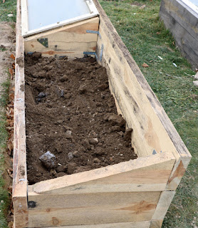 That's another raised bed complete