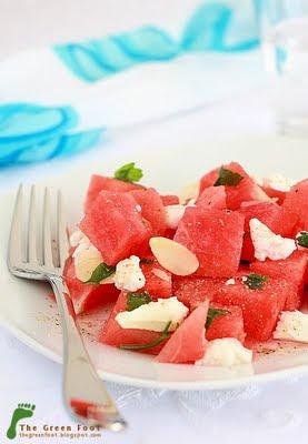 Salata de pepene rosu