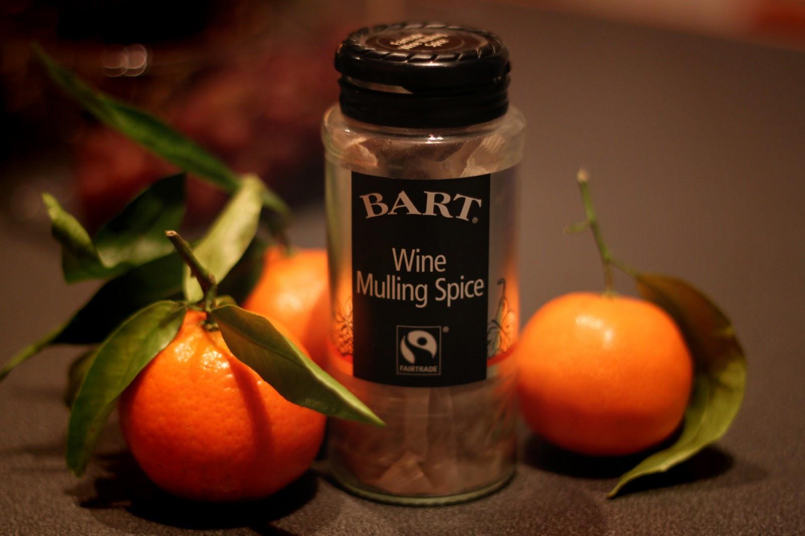 Wine mulling spice
