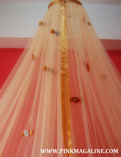 Pink MagaLine DIY Project How To Make A Canopy Mosquito Net