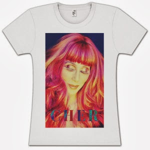 Cher 'Dressed To Kill Tour' T-Shirt