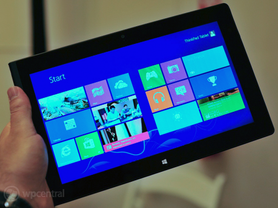 Lenovo ThinkPad Tablet 2 with Windows 8 to be priced at $799 with keyboard