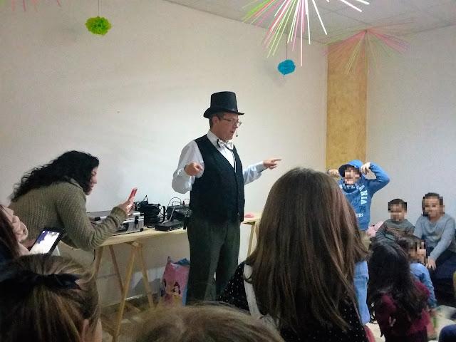 Cumpleaños con magia en Alcalá de Guadaíra