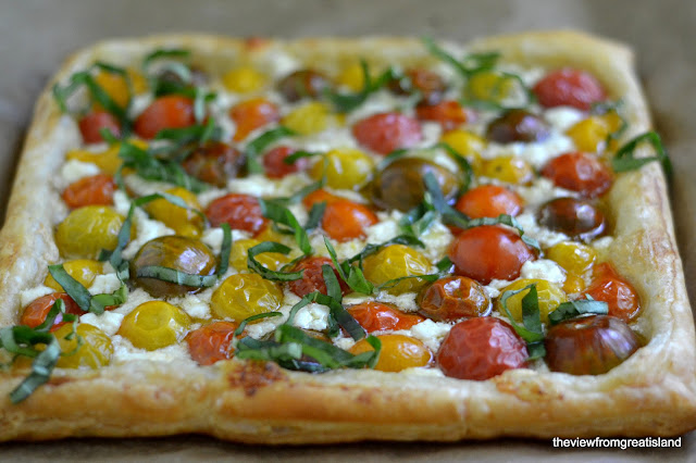 Minimal Monday: Heirloom Cherry Tomato Tart | The View from Great ...