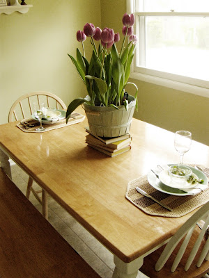 romantic ideas for spring table setting