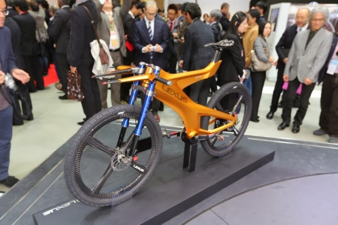 Toyotau0027s Luxury Vehicle Division, Lexus, Is Traditionally Known For Their  High End Premium Cars, But With The F Sport Road Bike Launched Earlier This  Year, ...