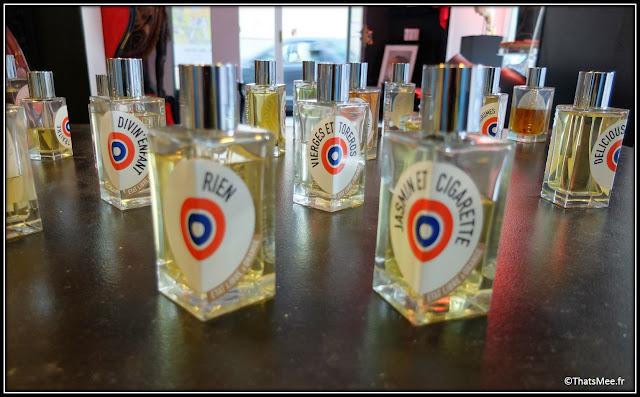 Parfums Etat Libre d'Orange Putain des Palaces Rien Divin'enfant Jasmin et Cigarettes