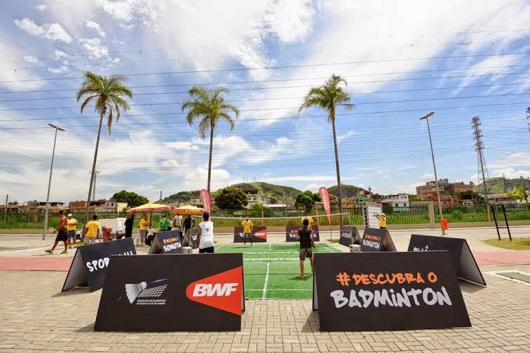 Badminton no Shopping Metropolitano Barra